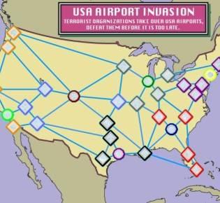 Аэропорты США. Восточное побережье