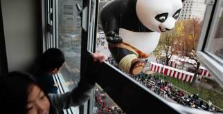 Macy's Parade на День Благодарения
