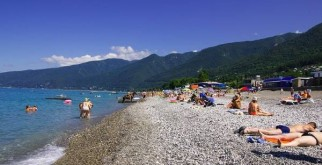 Гагры, абхазия. достопримечательности и развлечения на карте, фото города и пляжа, что посмотреть за 1 день