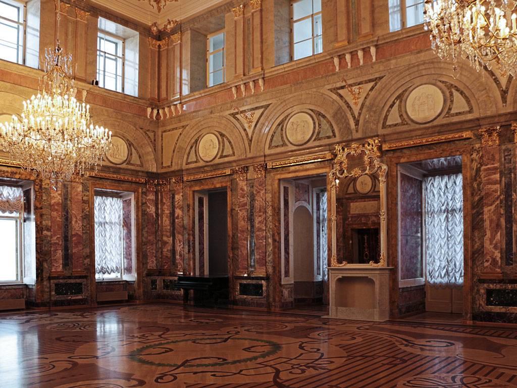 мраморный дворец фото залов виду невозмутимые
